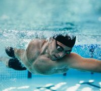 triatholon swimming training